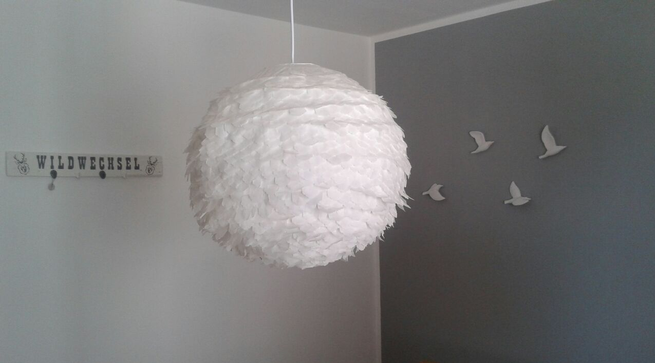 Papierlampion Upcycling
