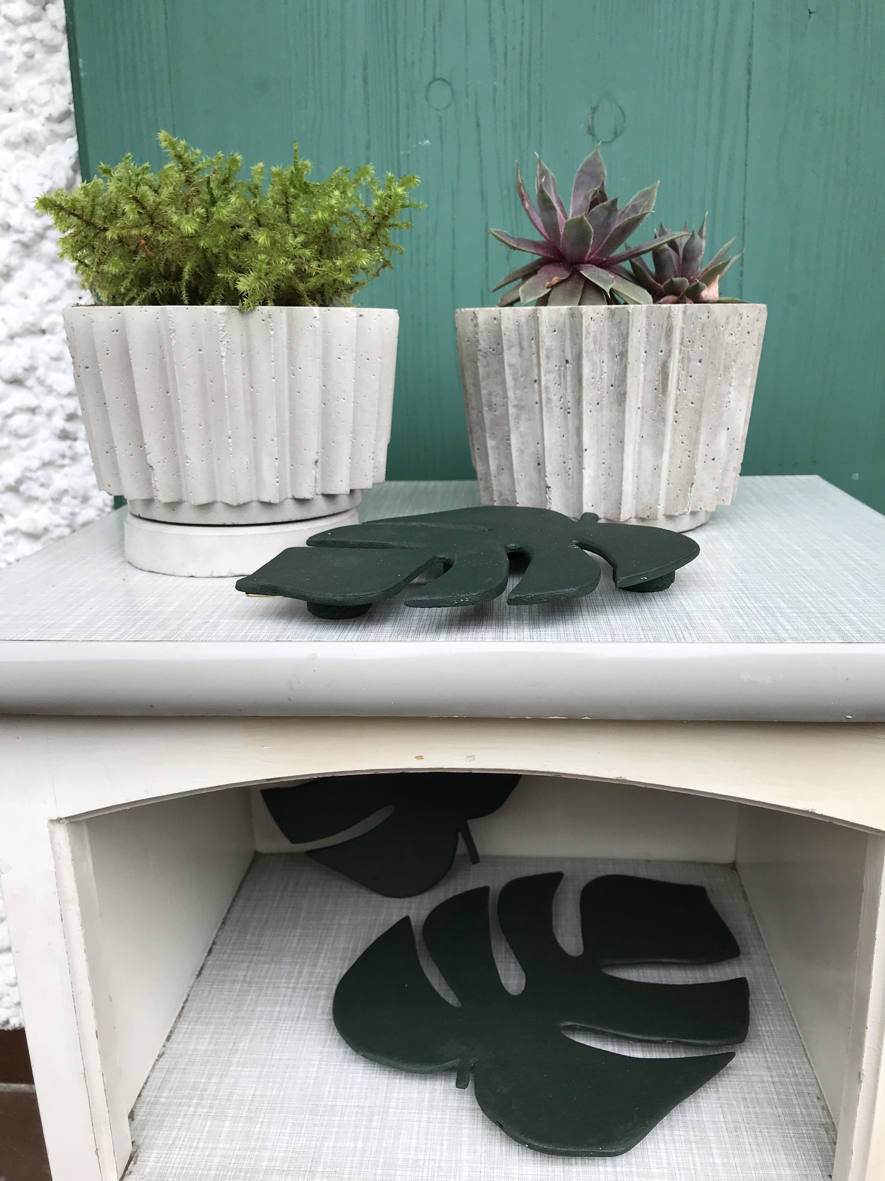 Blumentopf aus Beton in Origamioptik , Beton, DIY, Blumentopf selber machen. #Blumentopf, #Chalet8
