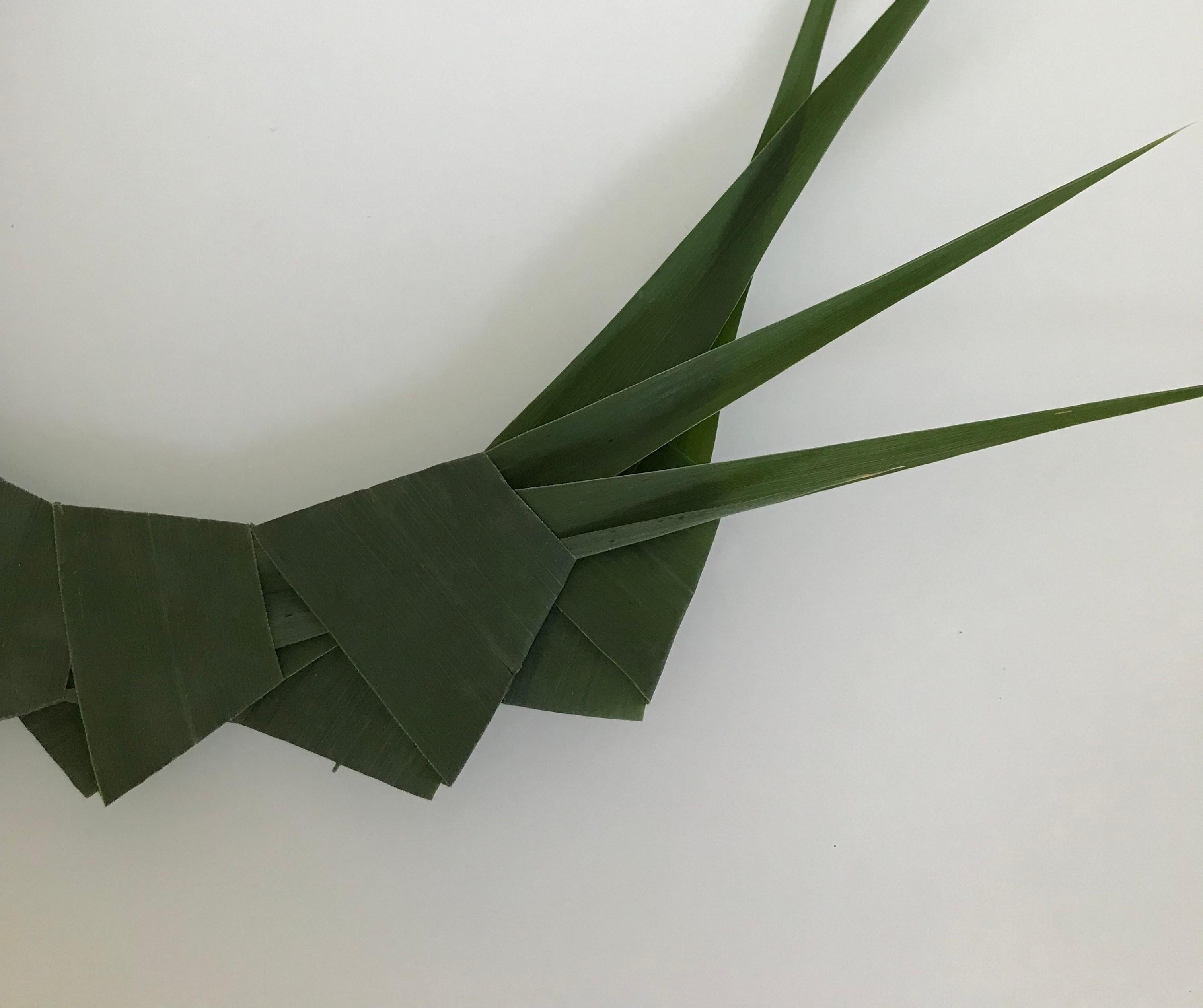 Kranz aus Schilf, Basteln mit Naturmaterialien. Natürliche Deko. #Schilf, #chalet8