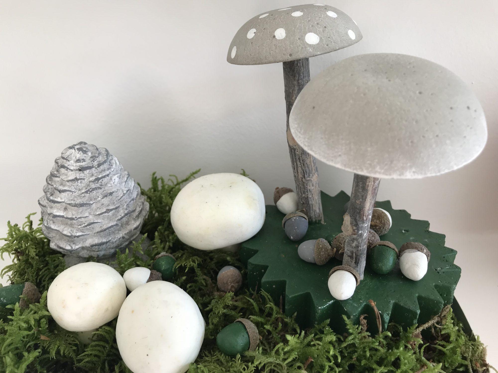 Beton-Pilze