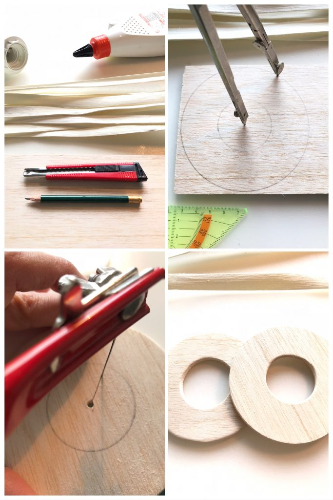 DIY: Rattanlampe-Step 1