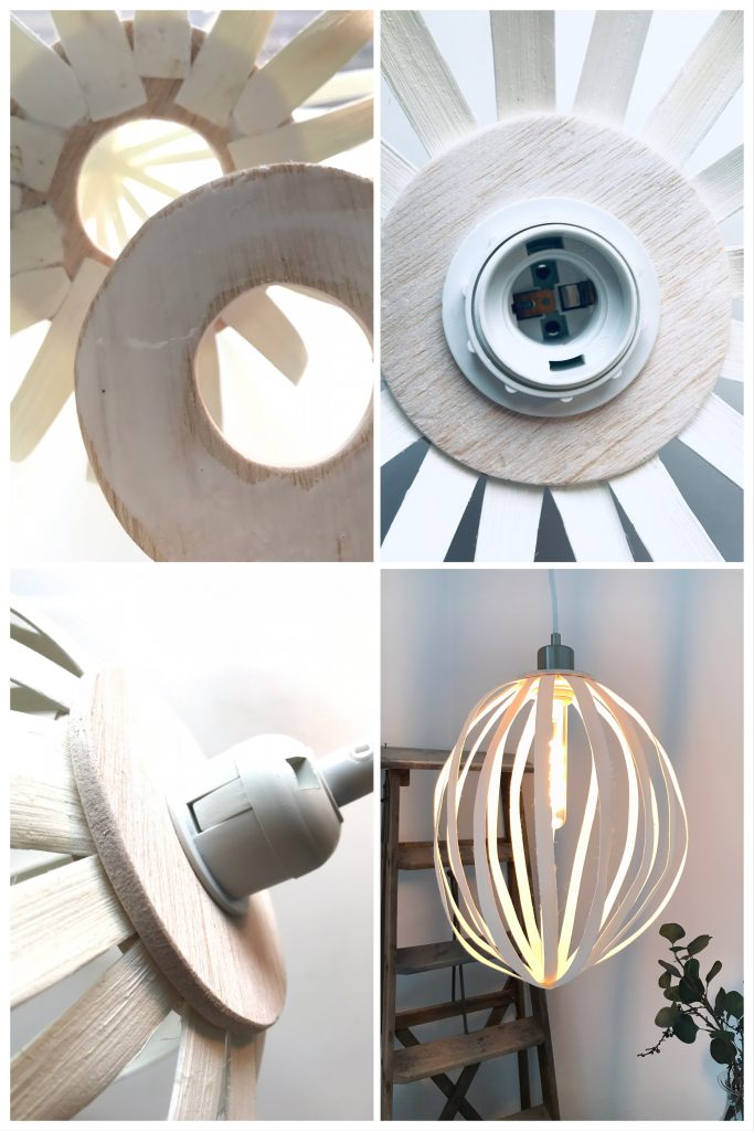 DIY: Rattanlampe-Step 3