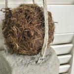Dekokugel aus Holzfaser