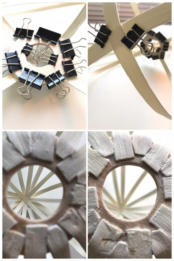 DIY: Rattanlampe-Step 2