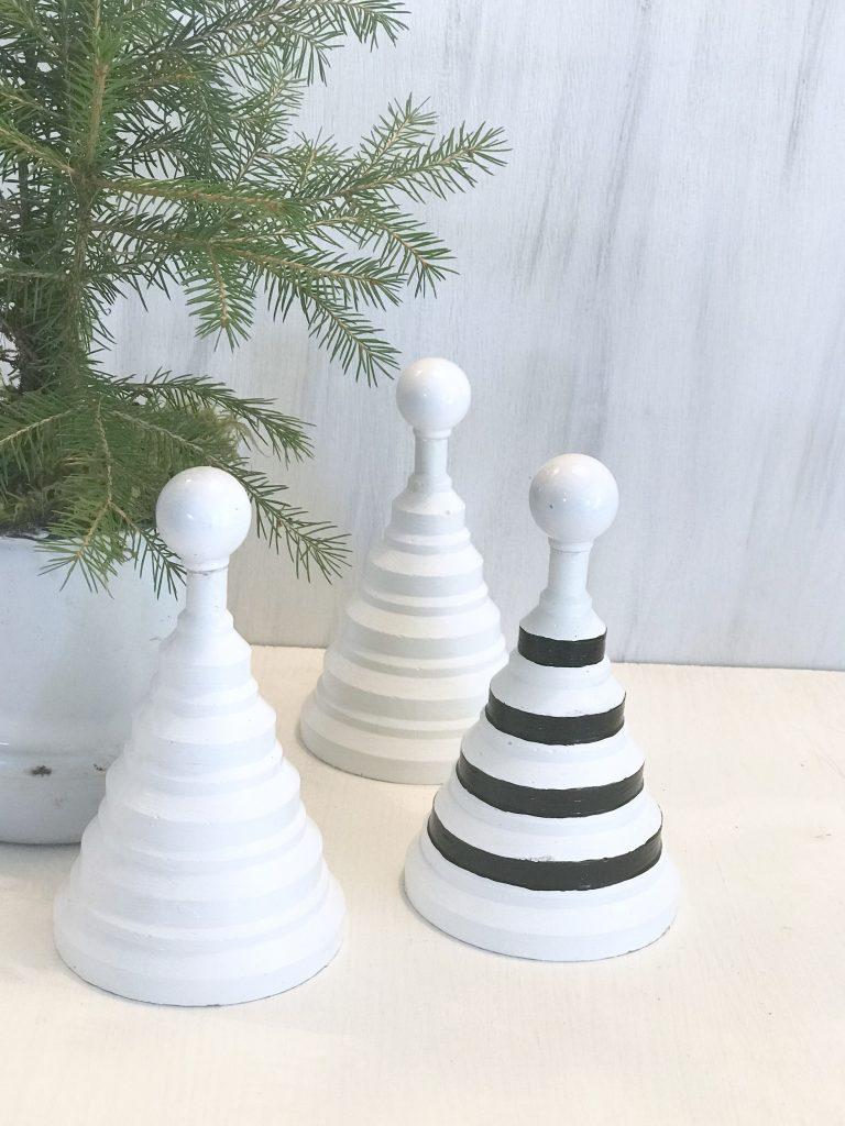 Beton Weihnachtsdeko.Diy Feine Tannenbäume Aus Beton Oder Gips Selber Machen Chalet8