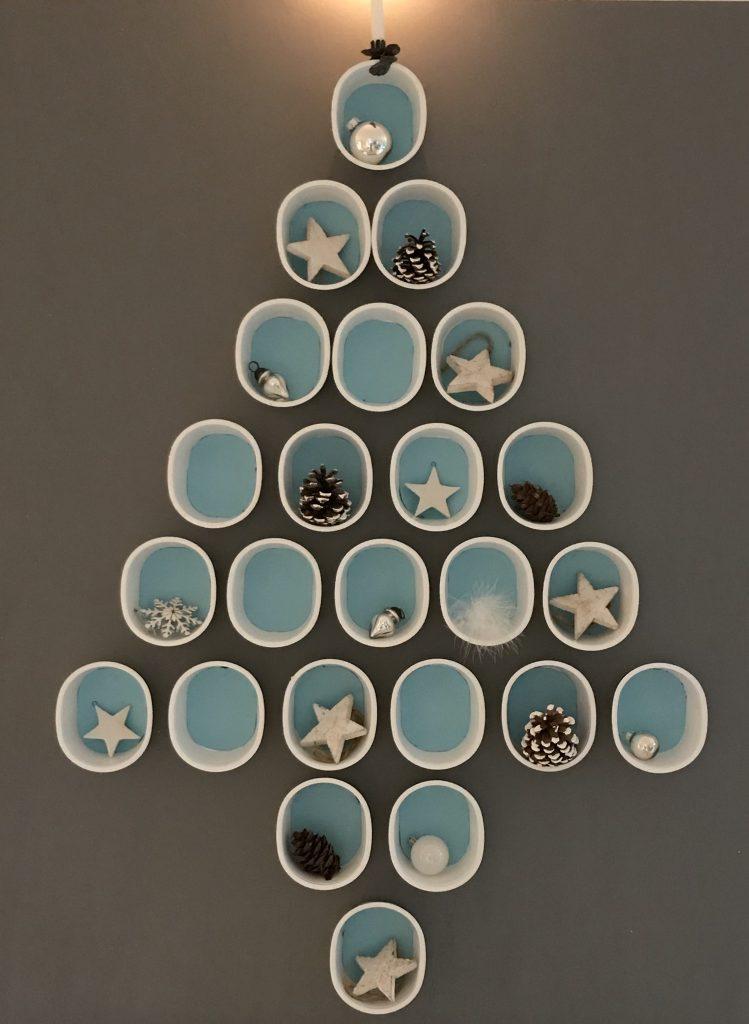 Moderner Weihnachtsbaum-2018/ Upcyclingprodukt