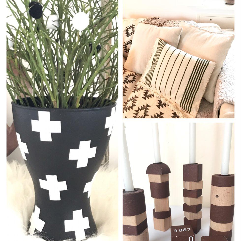 3 IKEA Hacks Vase, Kissen, Kerzenständer, #Chalet8, #IkeaHack