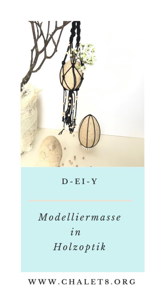 D-EI-Y Modelliermasse in Holzoptik