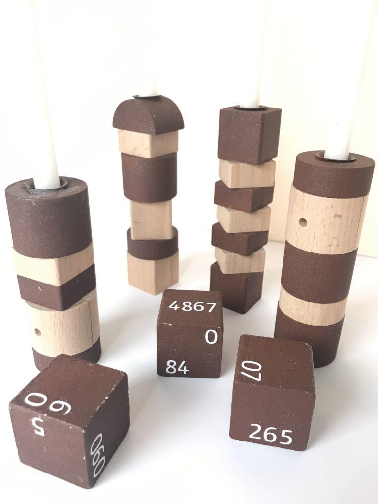 IKEA-Hack Kerzenständer aus Bauklötzen, #Chalet8, #IkeaHack