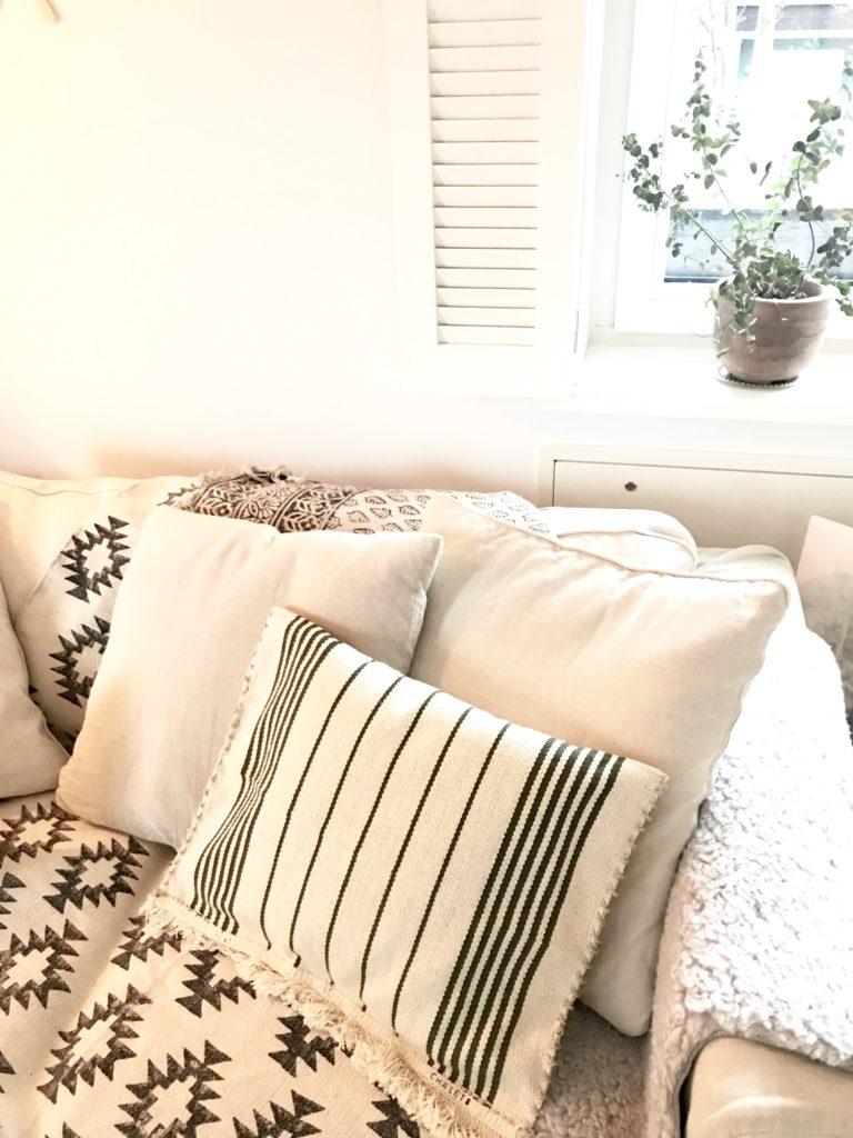 IKEA-Hack Kissen aus Teppich