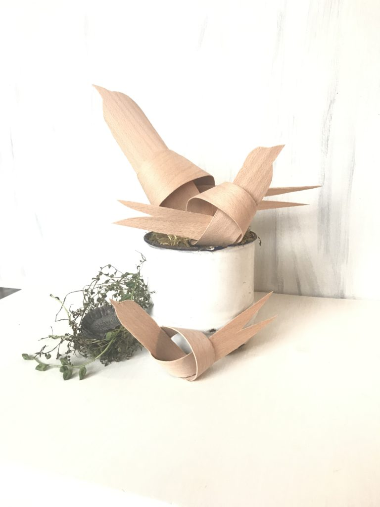 Chalet8/ DIY-Blog/ Furnierholz-Vögel/ Basteln/ Naturmaterial/ Einfach/ Deko, #Furnierholz, #Chalet8