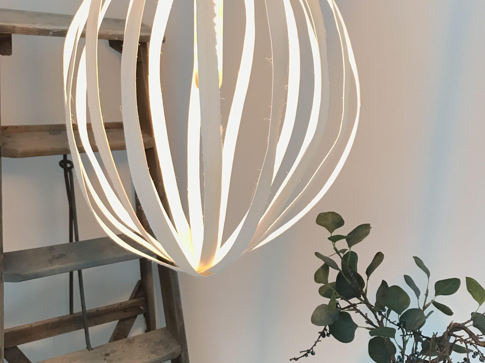 Rattanlampe Design by Chalet8, Designerlampe, #Chalet8, #Rattanlampe