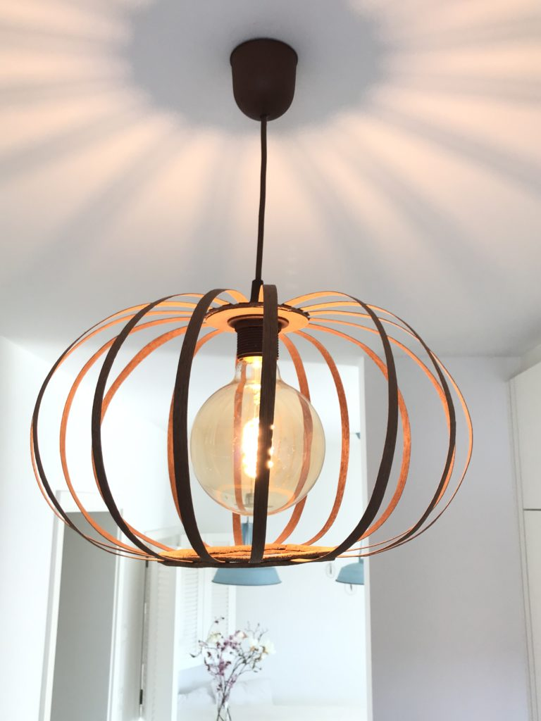 Furnierholzlampe, Designerlampe, Lampe, Chalet8, DIY, Blog, #Furnierholzlampe, #Lampe