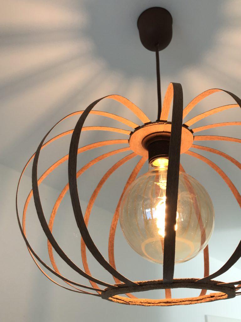 Furnierholzlampe, Designerlampe, Lampe, Chalet8, DIY, Blog,  #Furnierholzlampe. #Chalet8