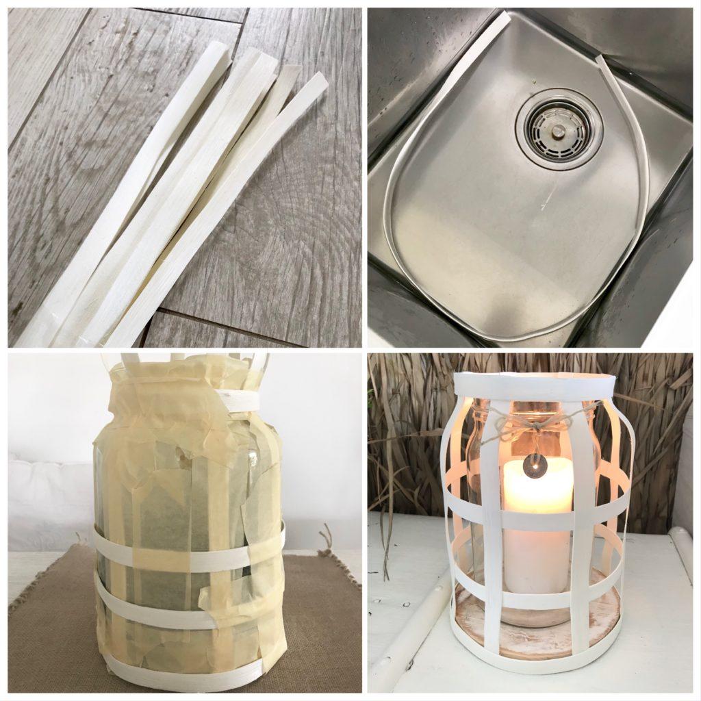 DIY: Windlicht aus Rattan selber machen. Sommerdeko, Herbstdeko, Winterdeko, Chalet8, Blog, DIY, Basteln, Rattanband, Rattanstäbe, Rattan, Windlicht, Trend, Dekoration. #Chalet8, #Windlicht
