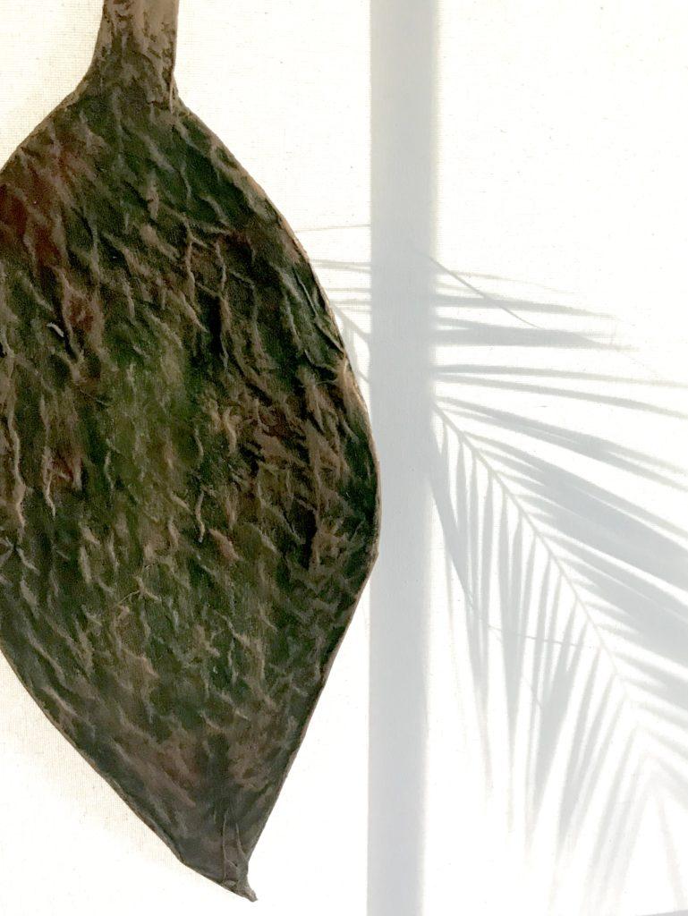 Basteln mit Pappmaché/ Pappmache: Edle Sommerdeko und Herbstdeko, bzw. Muschel und Blatt gestalten. #Pappmaché, #Pappmache, #Chalet8
