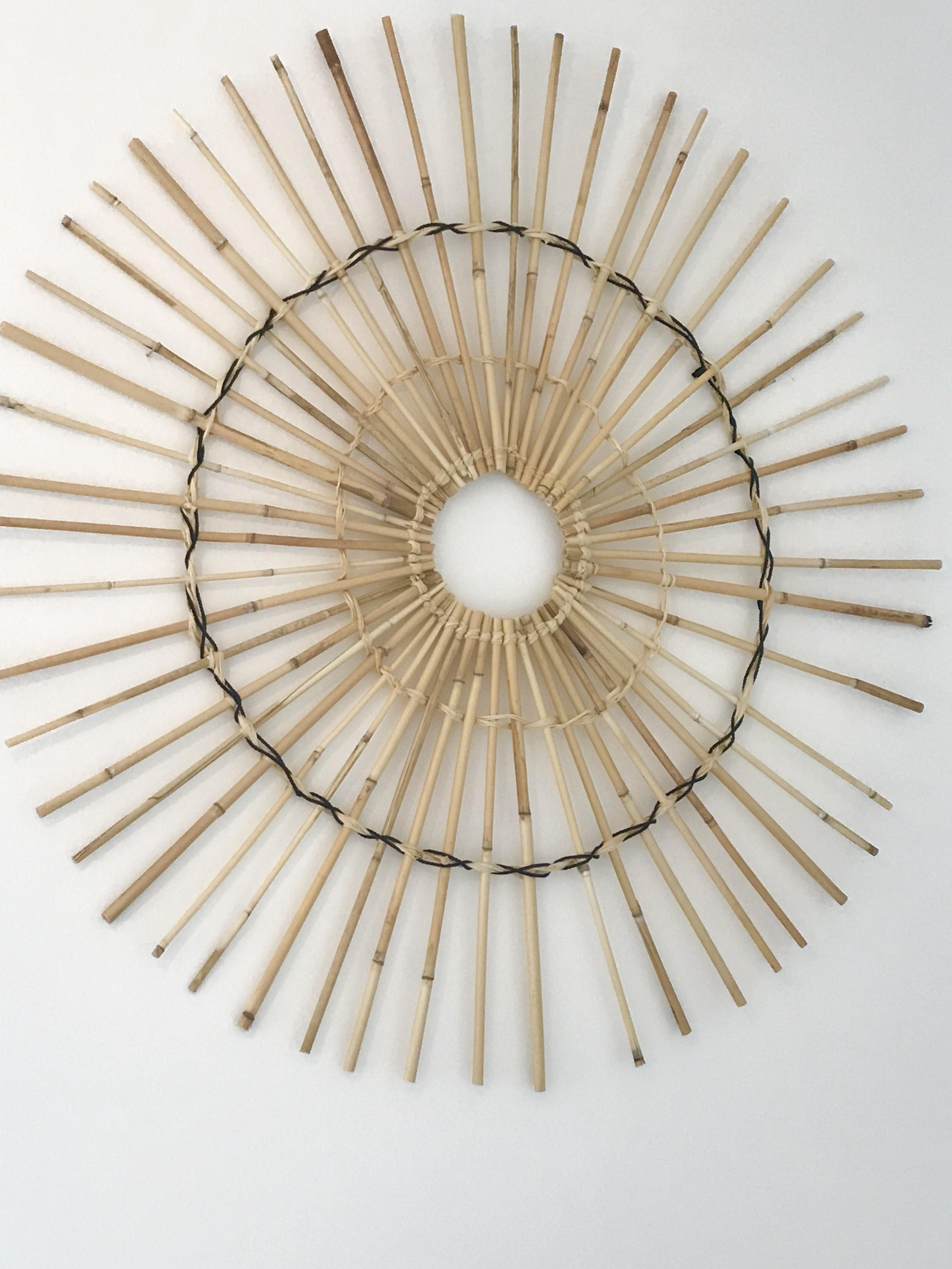 Diy Sonne Aus Bambus Als Deko Fur Die Wand Chalet8