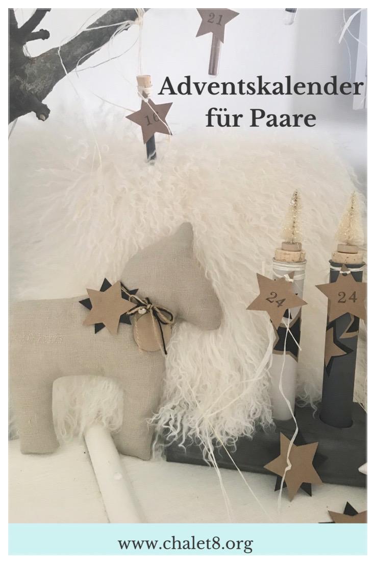 Diy Adventskalender Basteln Für Paare Chalet8