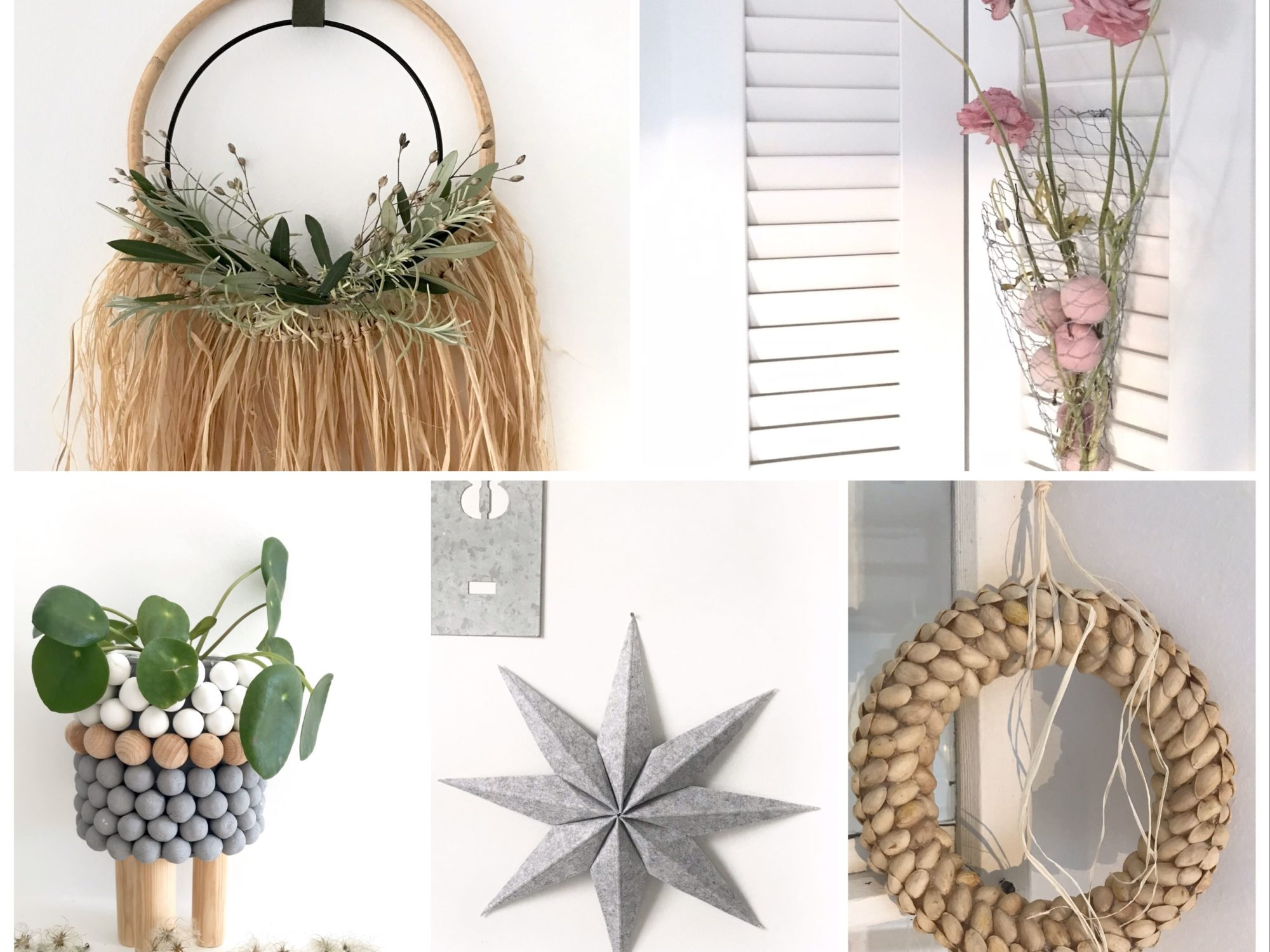 DIY: Kleine DIYs für das ganze Jahr. Instagram Sammlung von einfachen DIYs für alle Jahreszeiten. DIYs für Frühling, Sommer, Herbst und Winter. #Chalet8 #DIY