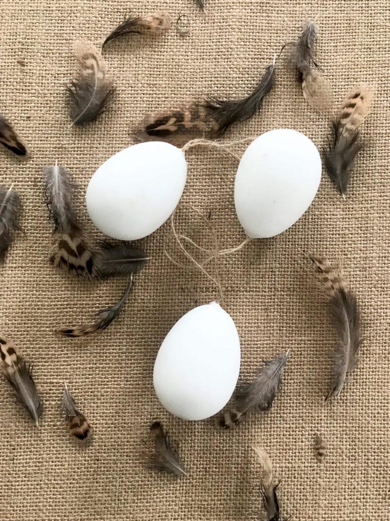 DIY Osterei Deko Extra Plastikeier pimpen. #Chalet8 #Osterei #Plastikei #Ostern