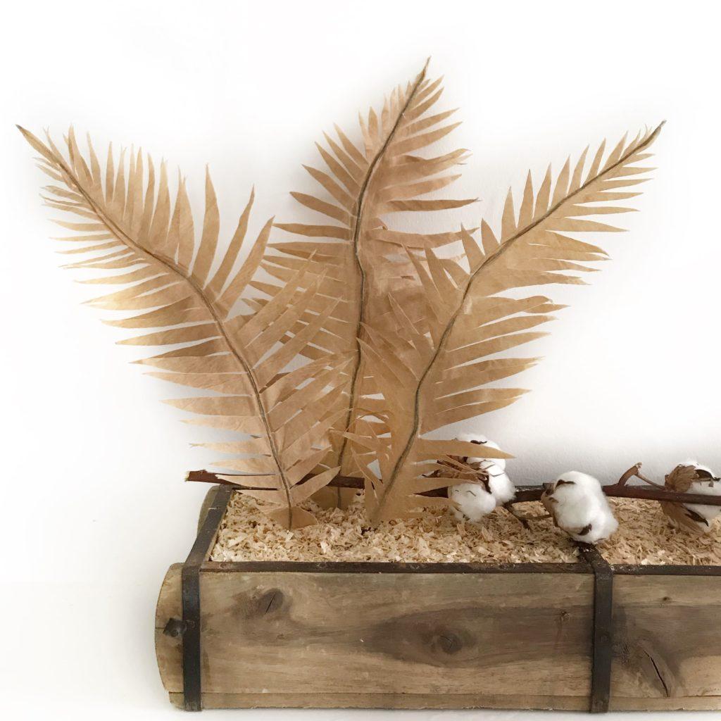 DIY Pflanze aus Papier basteln. Papierpflanze selber machen. #chalet8 #papierpflanze #papierdiy