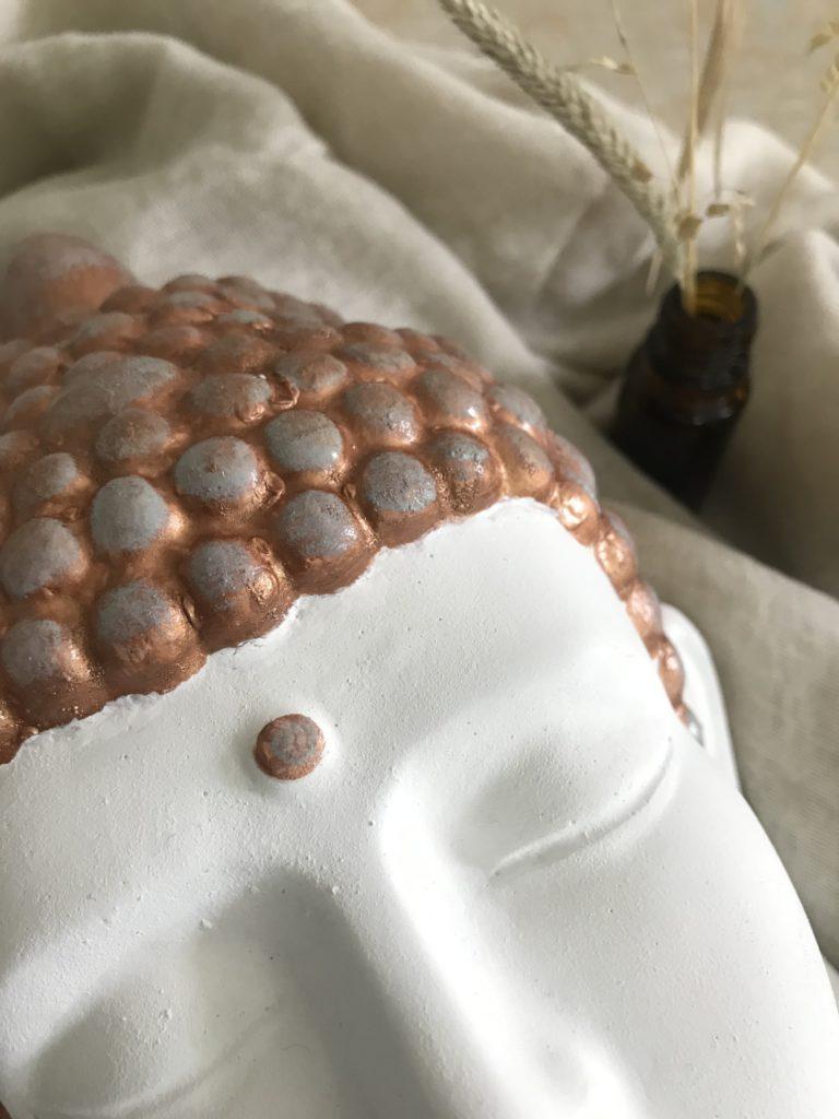 Makroaufnahme Buddha
